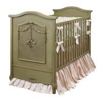 Cherubini Crib Finish: Versailles Green