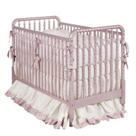 Jenny Lind Crib Finish: Metallic Rose