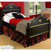 Cody Bed Bed Size: Twin Finish: Black Trim Out: Gold Gilding Appliqued Moulding: Star Moulding in Gold Gilding