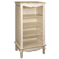 Narrow French Bookcase Finish: Versailles Creme