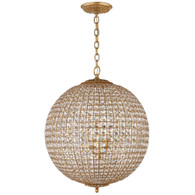 Renwick Large Sphere Chandelier Finish: Gilded