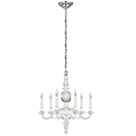 George II Small Chandelier Finish: Polish Nickel