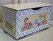 Toy Chest Finish: Antico White Hand Painted Motif: Custom Tea Party