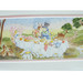 Toy Chest Finish: Antico White Hand Painted Motif: Alice in Wonderland
