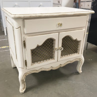 Country French  Night  Table