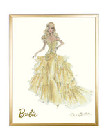 Limited 50th Anniversary Barbie in Gold Frame