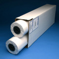 "Inkjet Plotter Paper , 20lb, 24"" x 300' 2 Roll/Carton, 740240U"
