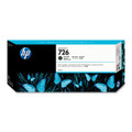 HP 726 Matte Black Ink Cartridge (300 ml) (HP Designjet T1200 & T2300 only)