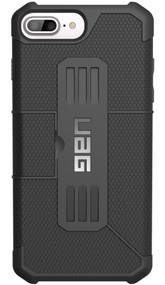 UAG Metropolis Folio Wallet Case iPhone 7+ Plus - Black