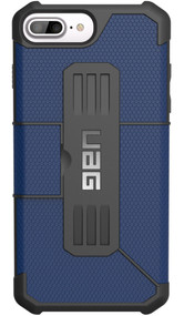 UAG Metropolis Folio Wallet Case iPhone 7+ Plus - Cobalt