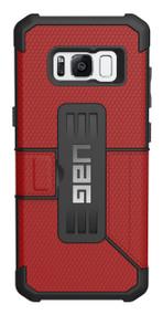 UAG Metropolis Folio Wallet Case Samsung Galaxy S8 - Magma