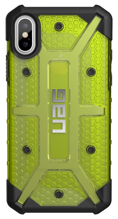UAG Plasma Case iPhone X - Citron