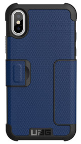 UAG Metropolis Folio Wallet Case iPhone X - Cobalt