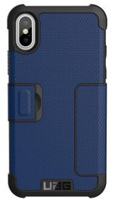 UAG Metropolis Folio Wallet Case iPhone X/Xs - Cobalt