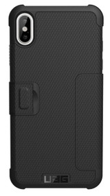 UAG Metropolis Folio Case iPhone Xs Max - Black