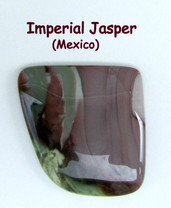 Imperial Jasper(Mexico) 28x28mm 32 cts IJ1