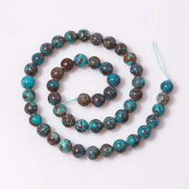 Turquoise(China) 8mm Rounds Beads