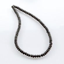 Green Variegated Obsidian Beads