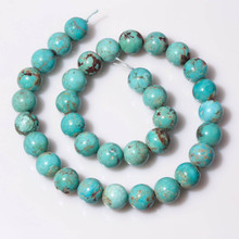 Turquoise Beads(China) 12mm Rounds