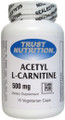 Trust Nutrition Acetyl L-Carnitine 500mg 60 Veg Caps