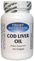 Trust Nutrition Cod Liver Oil 100 Softgels