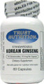 Trust Nutrition Ginseng Extract (Korean Panax) 350 mg 60 Capsules