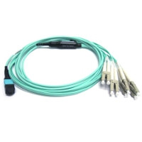 CBL-QSFP-4x10GSFP-5M - Force10 5 Meter QSFP+ to 4 x SFP+ Optical Breakout Cable