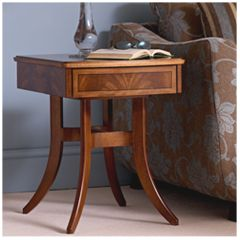 Nathan Furniture Elegance Walnut Lamp Table