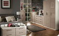 Welcome Furniture - Knightsbridge Gloss - 2 Door 2 Drawer Wardrobe - Choice of Vibrant Gloss & Calm Naturals Colours