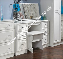 Welcome Furniture - Balmoral White Gloss with Crystal Effect Knobs