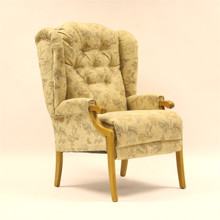 Cotswold Chair Co - Abbey Fireside Chair - Showood option