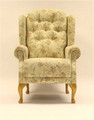 Cotswold Chair Co - Abbey Fireside Chair - Queen Anne option