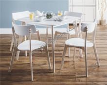 Fresh white dining set