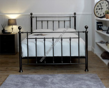 Libby Black Chrome Bed Frame