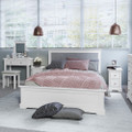 Sandringham Bed Frame - White
