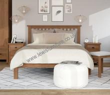 Waterford Medium Oak Range - Bed Frame