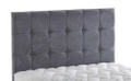 "Cuba 24"" headboard - choice of colours and fabrics"