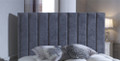 "Sophia 24"" (60cm) headboard - choice of colours and fabrics"