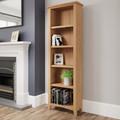 Galway light oak bookcase