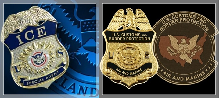 Badge And Credential Cases Id Reels Usbp Cbp Dhs Tsa Ice