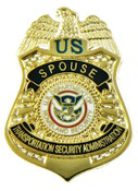 Transportation and Security Administration Spouse Mini Badge Pin