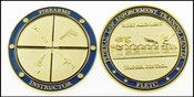 Federal Law Enforcement Training Center Firearms Division Challenge Coin