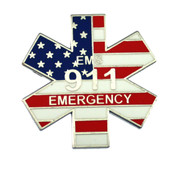 911 Emergency Medical Services (EMS) Lapel Pin