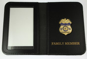 Health & Human Services OIG Special Agent ID Wallet - Family Member Embossing
