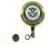 TSA Mini Patch Retractable ID Badge Holder