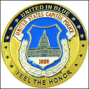 U.S. Capitol Police Challenge Coin - Front