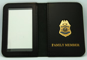 Immigration & Naturalization Service Inspector Family Member ID Wallet