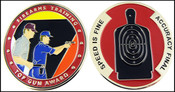 Federal Law Enforcement Training Center Top Gun Shooters Award Challenge Coin