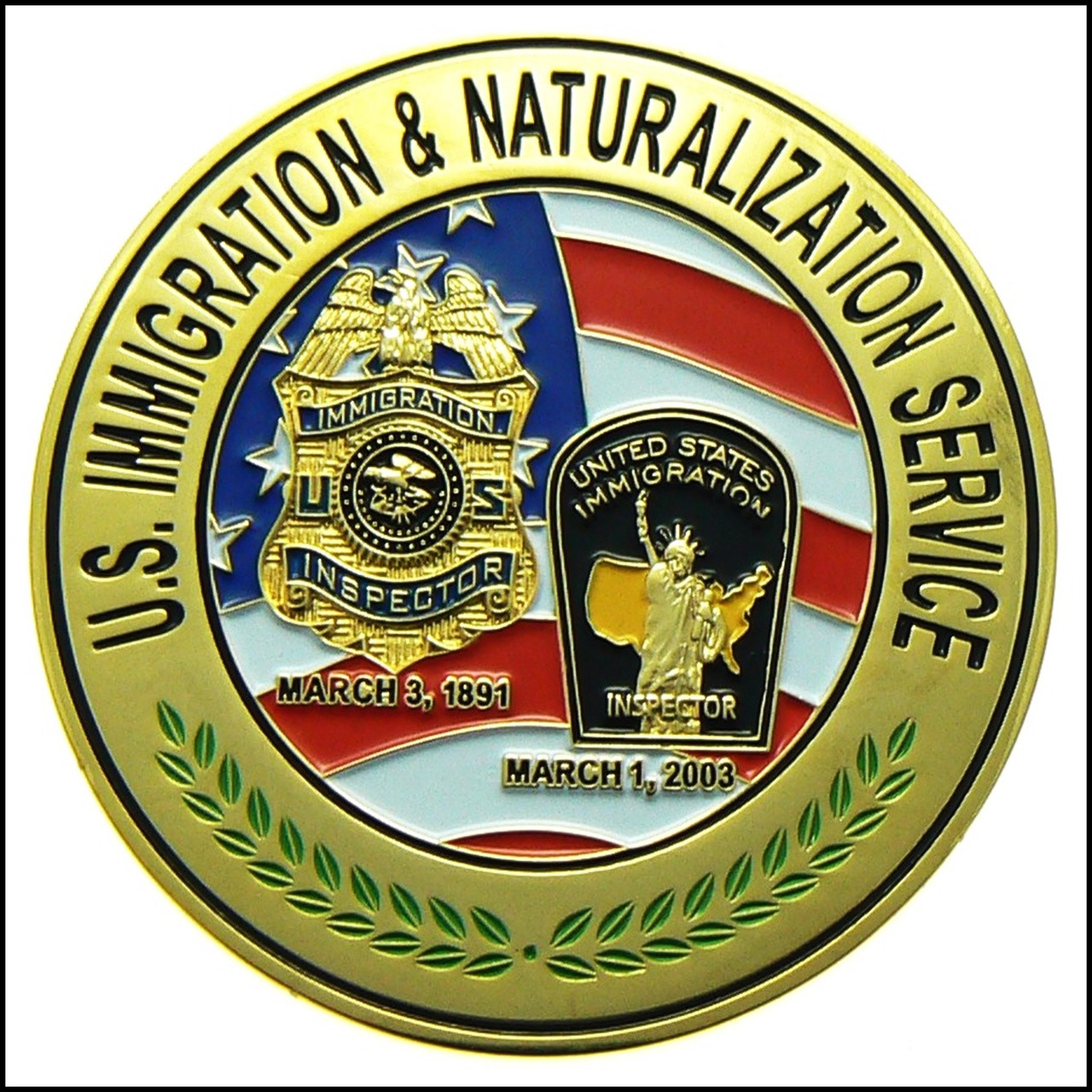 Legacy U.S. Immigration And Naturalization Service
