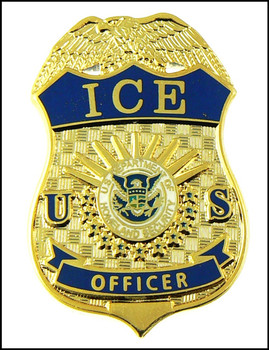 Immigration And Customs Enforcement Officer Mini Badge